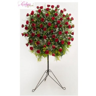 Ayaklı Perforje Güller